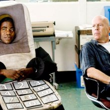 Tracy Morgan e Bruce Willis in un'immagine di Cop Out