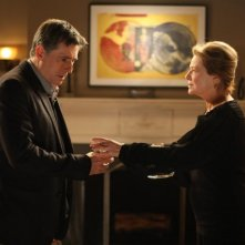 Gabriel Byrne e Dianne Wiest nella serie TV In Treatment