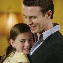 Georgia Cole e Luke Mably nell'episodio What Lies Beneath di The Gates