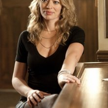 Jeri Ryan in un momento dell'episodio The Bottle Job di Leverage