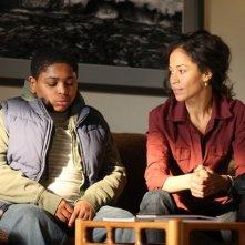 Sherri Saum ed Aaron Shaw nella serie In Treatment