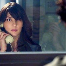 Gina Bellman in un momento dell'episodio The Jailhouse Job di Leverage