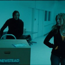 Adrien Brody e Sarah Polley, protagonisti del film Splice