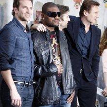 Bradley Cooper, Quinton Jackson, Sharlto Copley, Liam Neeson presentano A-Team al Guys Choice Awards 2010