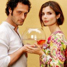Fabio Troiano e Chiara Muti in posa per Goodbye, Mr. Zeus!