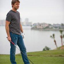 Matt Passmore in una scena del pilot della serie The Glades