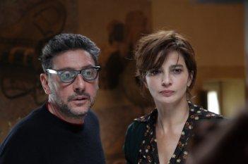 Sergio Castellitto e Laura Morante in una prima immagine del film La bellezza del somaro