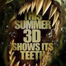 Teaser poster americano per Piranha 3D