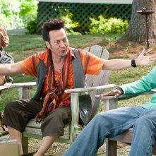 David Spade, Chris Rock e Kevin James nel film Un weekend da bamboccioni
