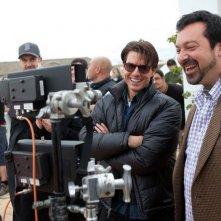 Tom Cruise e il regista James Mangold sul set del film Innocenti bugie