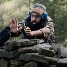 Un'immagine dal set del film Four lions