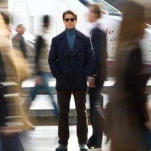 Una suggestiva immagine dell'action Innocenti bugie con Tom Cruise