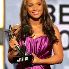 Alicia Keys premiata ai BET Awards 2010