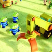 Gli Alieni si organizzano nel film Toy Story 3