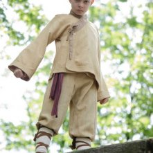 Noah Ringer interpreta Aang nel film The Last Airbender