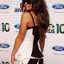 BET Awards 2010: il look 'black and white' di Stacy Ferguson dei Black Eyed Peas