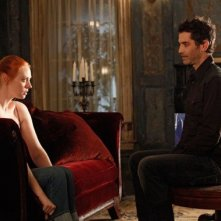 Deborah Ann Woll e James Frain nell'episodio It Hurts Me Too di True Blood