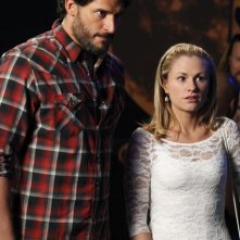 Joe Manganiello ed Anna Paquin nell'episodio It Hurts Me Too di True Blood
