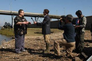 John Goodman e Sean Gormley in una scena di Treme