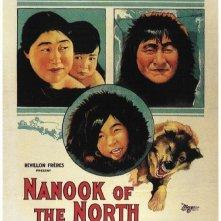 La locandina di Nanuk l'eschimese
