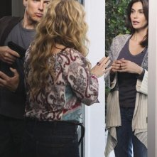 Teri Hatcher e John Barrowman nell'episodio I Guess This Is Goodbye di Desperate Housewives