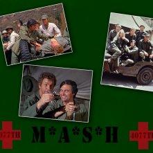 Wallpaper dedicato ai protagonisti della serie M.A.S.H.