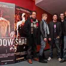 Zampaglione e il cast di Shadow all\'incontro con la stampa