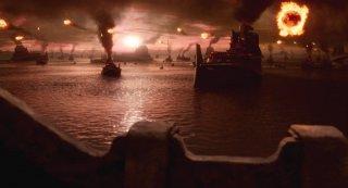 Una suggestiva immagine del film The Last Airbender