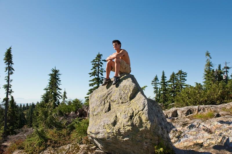 Jacob Taylor Lautner In Cima Ad Una Roccia Nel Film The Twilight Saga Eclipse 167647