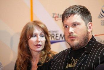 Marc Wootton al Roma Fiction Fest, nel 2010