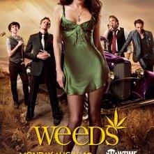 Un poster della stagione 6 di Weeds