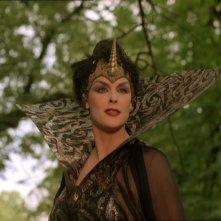 Brigitte interpreta la Strega Nera in Fantaghirò 4