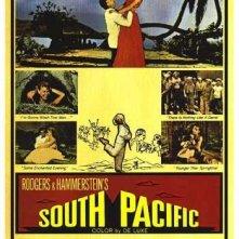 La locandina di South Pacific