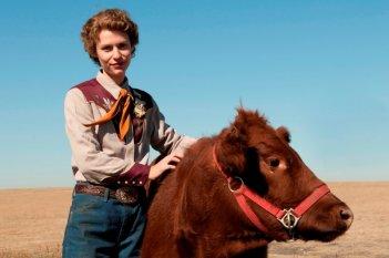 Claire Danes in una scena del film TV Temple Grandin