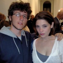 Ashley Greene con N. Santi Amantini durante il party di fine riprese di New Moon