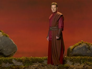 Una foto promozionale di Bryan Cranston per il film tv Fallen