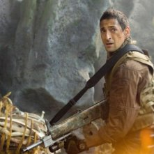 Adrien Brody in un'immagine del film Predators