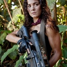 Alice Braga in un'immagine di Predators