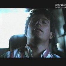Giacomo Carolei in una scena della miniserie Il mostro di Firenze