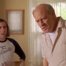 Jason Schwartzman e Joe Inscoe nel film Un microfono per due