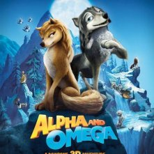Un poster per il film Alpha and Omega