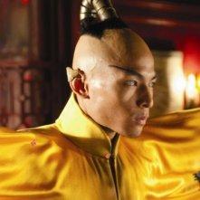 Gregory Woo, irriconoscibile nel film L'apprendista stregone