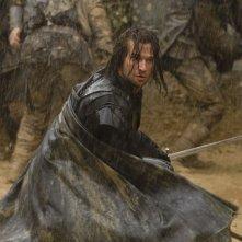 James Purefoy in una scena di combattimento nel film Solomon Kane