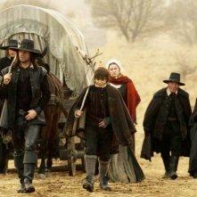 James Purefoy, Rachel Hurd-Wood, Pete Postlethwaite e Alice Krige in un'immagine del film Solomon Kane