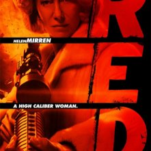 Poster di Helen Mirren in Red
