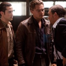 Joseph Gordon-Levitt, Leonardo DiCaprio e Tom Hardy nel film Inception