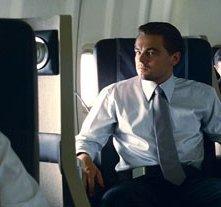 Leonardo DiCaprio e Cillian Murphy in una scena del film Inception