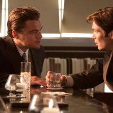 Leonardo DiCaprio e Cillian Murphy nel film Inception