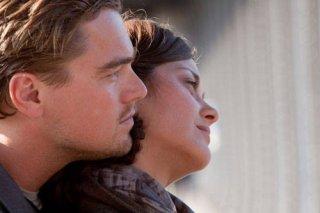 Leonardo DiCaprio e Marion Cotillard nel film Inception