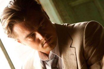 Profilo di Leonardo DiCaprio dal drammatico Inception